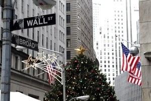 Chứng khoán phố Wall chào đón Giáng sinh trong sắc xanh