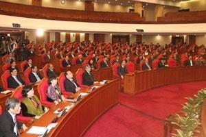 Bế mạc Hội nghị lần thứ tư Ban Chấp hành Trung ương Đảng khoá XI