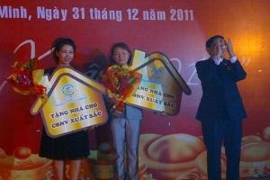 C.T Group thưởng Tết bằng nhà trị giá 8 tỷ đồng