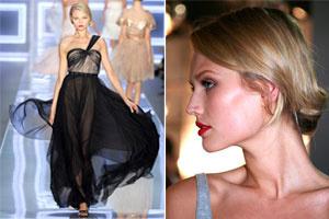 Phong cách trang điểm thanh lịch của Christian Dior Xuân Hè 2012