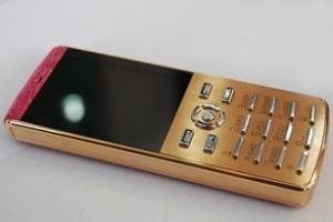 Điện thoại chạy Symbian dát vàng