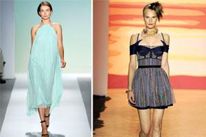 Những gam màu đình đám cho xuân hè 2012