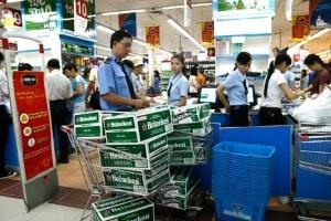Rượu, bia ngoại chiếm lĩnh thị trường