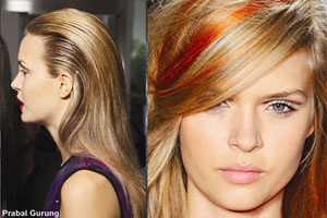 Các mẫu tóc mới mẻ cho năm mới 2012