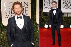 Những phong cách đẹp nhất của các quý ông trong Quả Cầu Vàng 2012