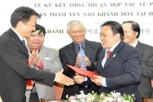 Thỏa thuận phát triển thị trường yến sào ở Hàn Quốc