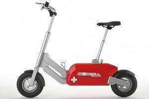 Xe đạp điện gấp kiểu