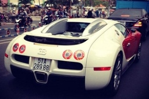 Siêu xe Bugati Veyron về Sài Gòn