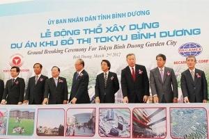 Khởi công khu đô thị Tokyu Bình Dương quy mô 1,2 tỷ USD