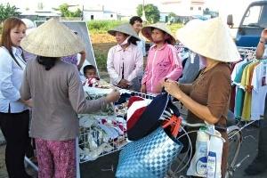 Nhu cầu tiêu dùng khu vực nông thôn đang tăng