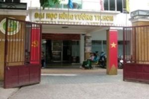 Đại học Hùng Vương bị đình chỉ tuyển sinh