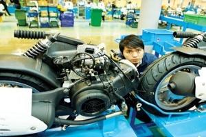 Doanh nghiệp FDI:Khuynh đảo thị trường xe máy