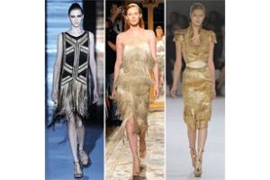 Sự lựa chọn mới mẻ - Váy ánh kim