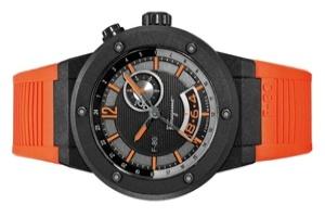 Đồng hồ Ferragamo F-80 Carbon Fiber GMT