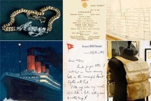 Những kỷ vật đắt tiền của tàu Titanic được bán đấu giá