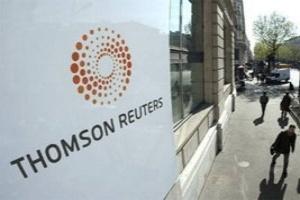 Hãng thông tấn Thomson Reuters lãi lớn trong quý I