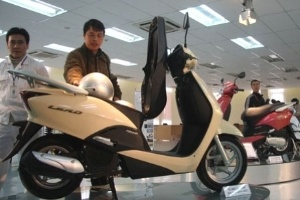 Giảm giá nhiều loại xe máy Honda