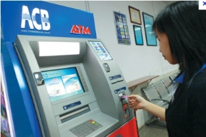 Một số thẻ quốc tế được ACB miễn phí rút tiền tại ATM - ACB