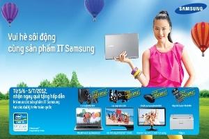 Vui hè sôi động cùng sản phẩm IT Samsung