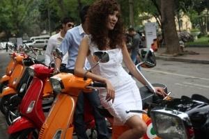 Piaggio giảm giá xe dịp Euro 2012