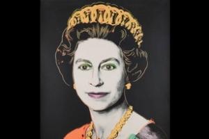 Chân dung Nữ hoàng Elizabeth II của Andy Warhol được đấu giá
