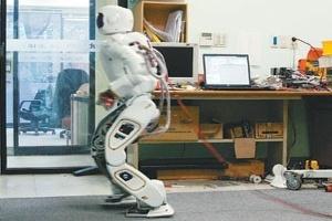 Robot hình người HUBO 2 có giá 400.000 USD