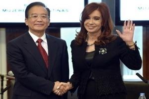 Argentina-Trung Quốc ký một loạt thỏa thuận hợp tác