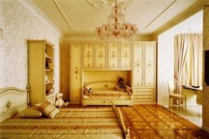 Phòng ngủ cổ điển dành cho bé gái