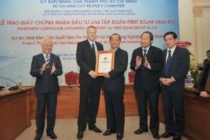 First Solar rao bán nhà xưởng 113 nghìn m2 tại Tp.HCM