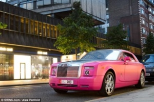 Các tỷ phú Trung Đông khoe siêu xe tại London
