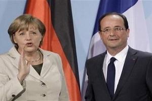 Pháp, Đức thắt chặt quan hệ để đối phó khủng hoảng