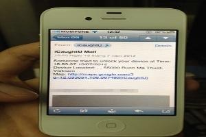Chiêu 'độc' truy tìm iPhone bị mất