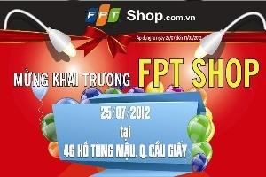 FPT Shop tưng bừng khai trương shop thứ 27 tại địa chỉ 46 Hồ Tùng Mậu