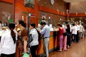 Vietcombank tăng lãi suất huy động VND