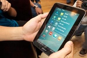 Đổi sách lấy Galaxy Tab 2
