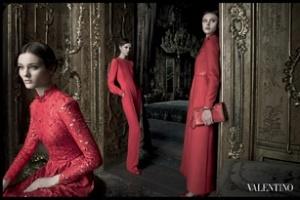 Valentino: Chiến dịch quảng cáo Thu/Đông 2012