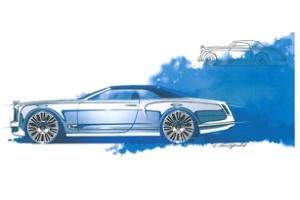 Bentley phác họa mẫu mui trần thanh lịch nhất thế giới