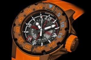 Đồng hồ lặn phiên bản giới hạn Richard Mille RM028 Brown PVD