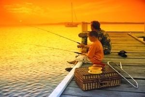 Kinh nghiệm khi đưa trẻ đi câu cá