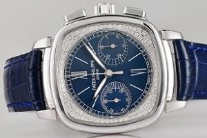 Đồng hồ nữ Patek Philippe chronograph thêm phiên bản vàng trắng