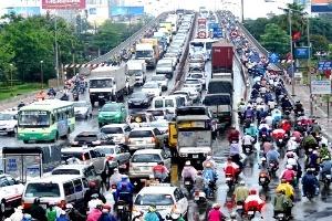 Thu phí ô tô theo giờ ở trung tâm TPHCM