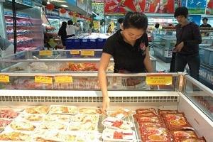 Nhập thức ăn gia súc về bán cho người