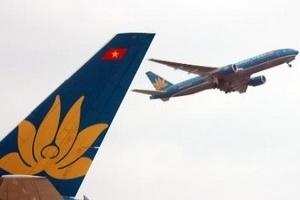 Vietnam Airlines hủy nhiều chuyến bay do bão số 7