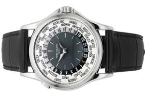Đấu giá Patek Philippe Ref. 5110 Platinum World Time