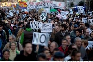 Kinh tế Tây Ban Nha ngày càng lún sâu vào vòng suy thoái