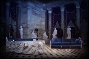 Ấn tượng với sofa điêu khắc