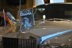 Đấu giá từ thiện Rolls-Royce bọc thép của Công nương Diana