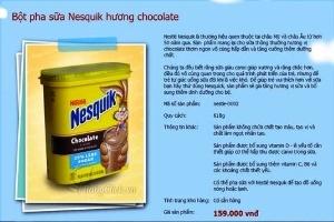 Nestle: Sữa Nesquik nghi nhiễm khuẩn không được nhập về Việt Nam