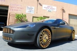 Meek Mill mạ vàng vành Aston Martin Rapide
