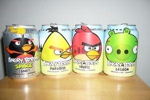 Nước ngọt Angry Birds bán chạy hơn Coca-Cola